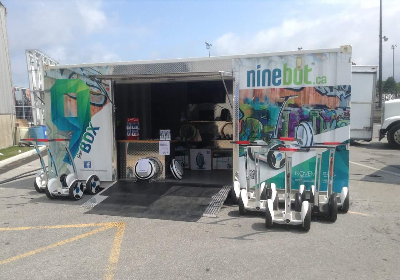 Ninebot Box Kiosk