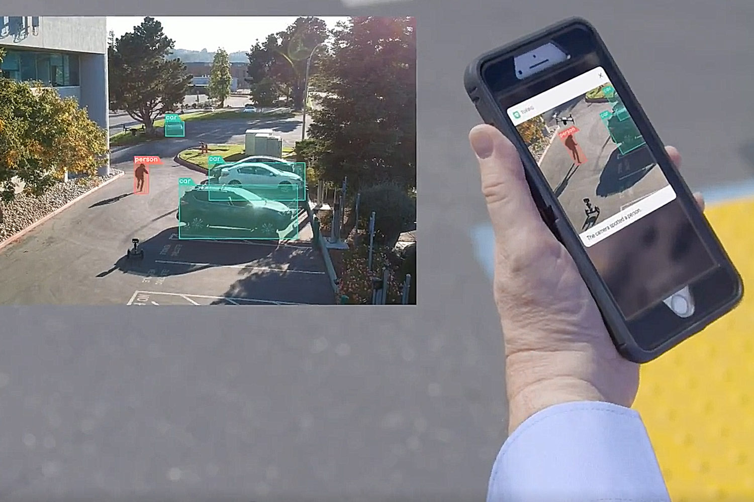 Live Streaming Video Feed for situational awareness