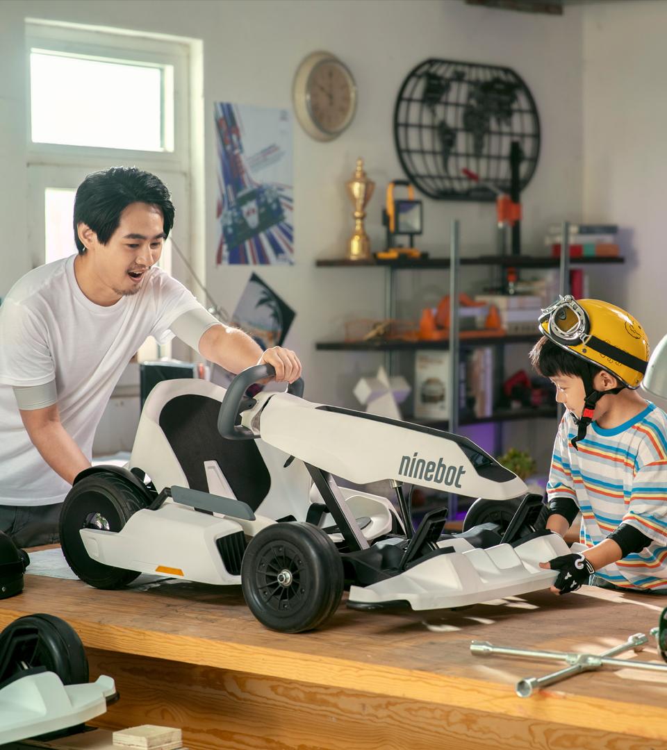 Ninebot Go Kart Garage
