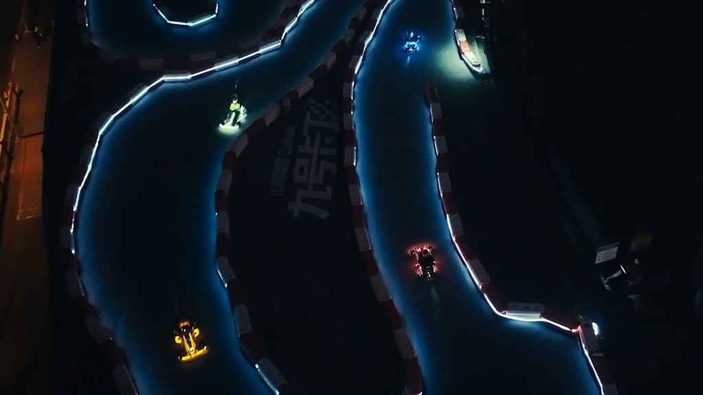 Aerial image of the Go Kart Pro