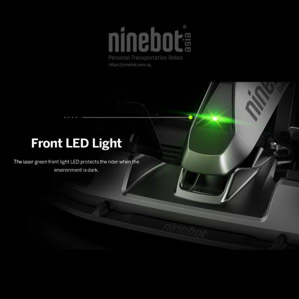 Nose cone design houses the Laser and headlight