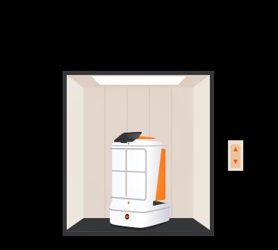 4. Take the elevator autonomously