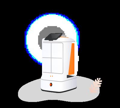 5. Robot arrived at destination