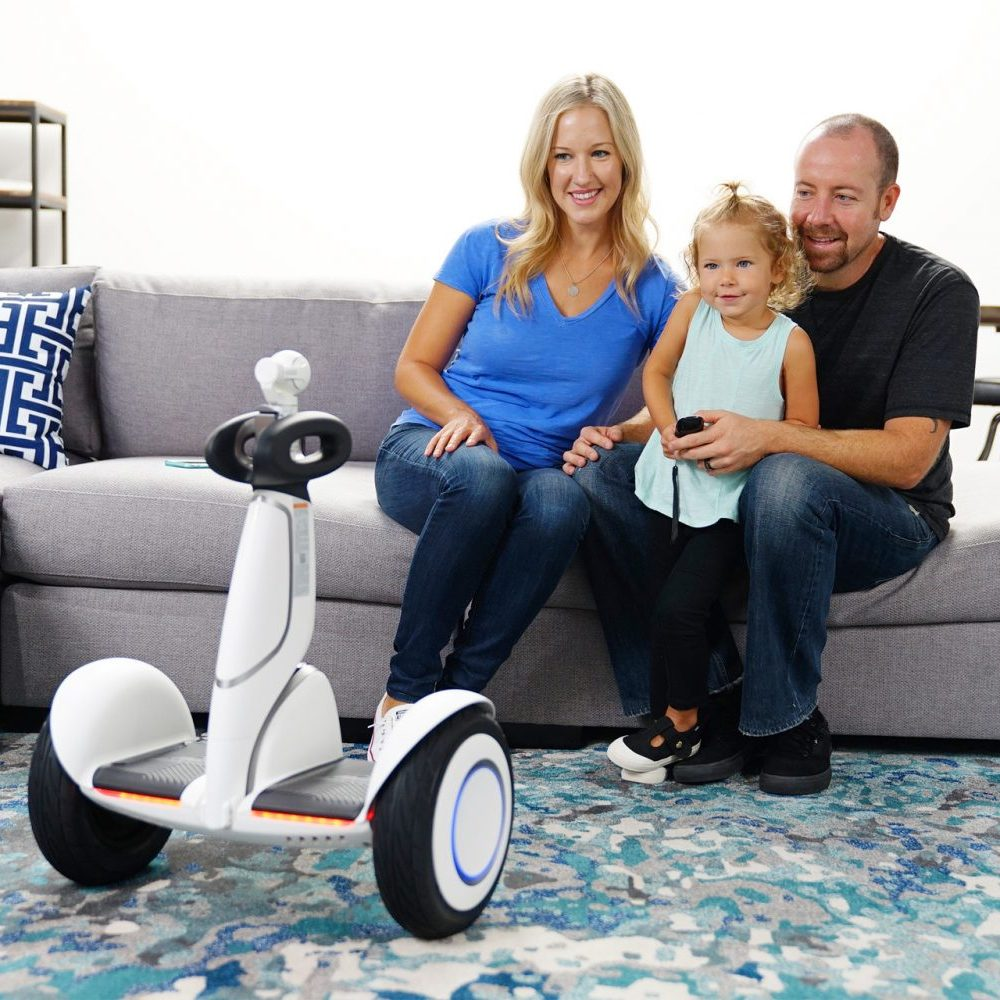 Segway miniPLUS in Singapore Home